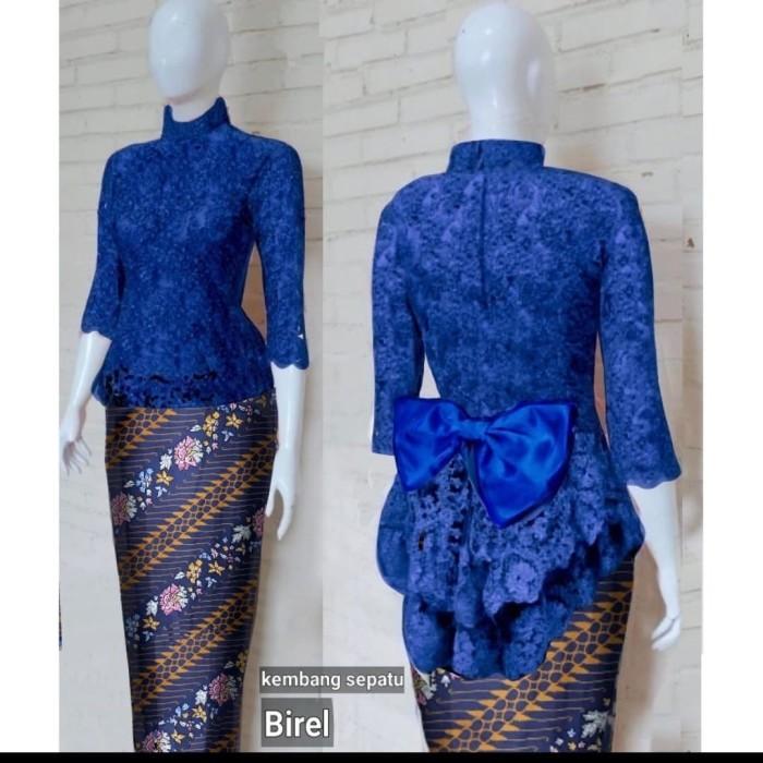 harga Setelan kebaya brukat panjang pita cantik rok batik muslim elegant Tokopedia.com