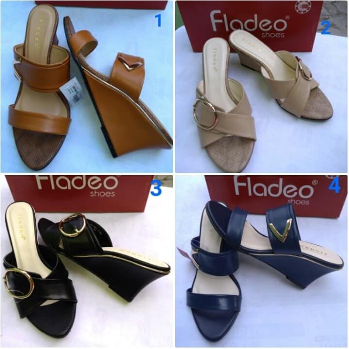 harga Wedges fladeo   sandal wedges wanita fladeo murah original  Tokopedia.com ca54ba701d