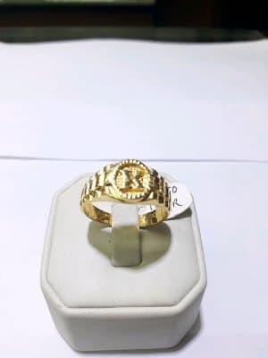 Harga Cincin Emas 24 Karat Huruf K Berat 12 05 Gram Size 22 Carat Gold
