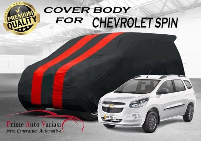 Jual Terlaris Body Cover 2 Warna Sarung Mobil 2 Warna Chevrolet Spin