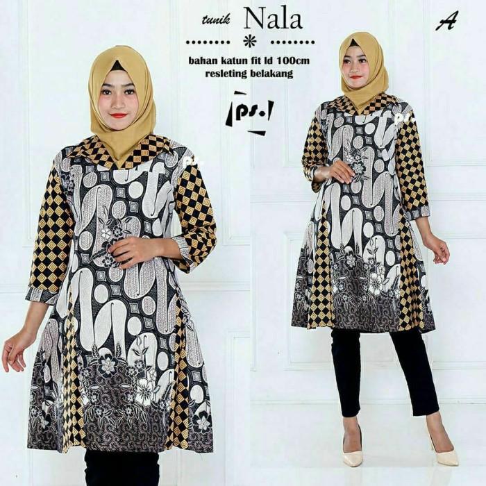 Jual Tunik Batik Atasan Wanita Dress Batik Baju Batik Wanita Terbaru Kab Pekalongan Batik Zamzam Tokopedia