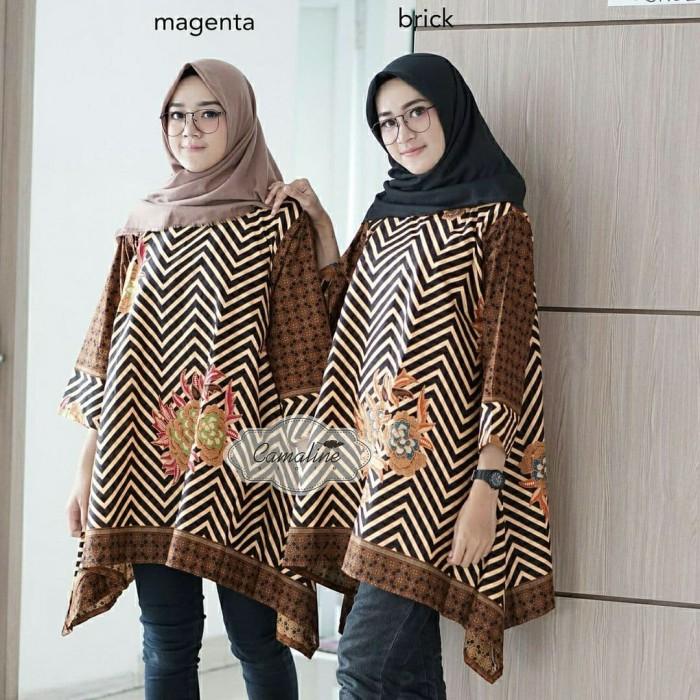 Paling Keren Contoh Desain Baju Batik Wanita Modern ...