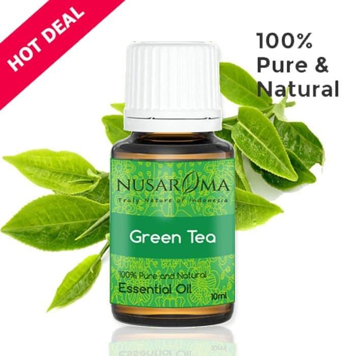 Foto Produk Green Tea Oil ( Minyak Green Tea ) 10 Ml | 100 % Pure & Natural dari vanshop88