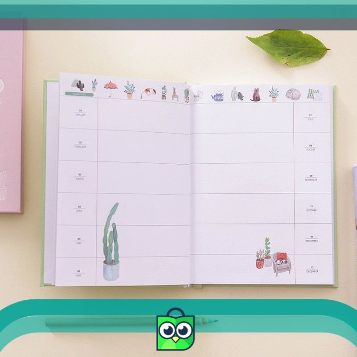 image relating to Daily Agenda referred to as Jual Pleasant Working day 365 Everyday Planner (Buku Tulis / Jurnal / Plan) - DKI Jakarta - Pratiwi Keep.Identity Tokopedia