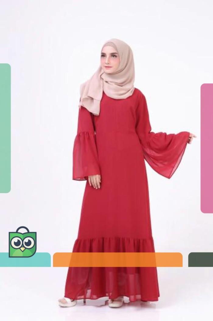 Jual Medina Dress Gamis Syar I Busui Gamis Muslim Lengan Lonceng Dki Jakarta Andria Store Id Tokopedia
