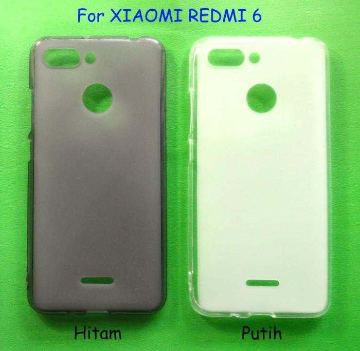 reputable site 37c67 a46fa Jual Softcase XIAOMI REDMI 6 - Casing Soft TPU Jelly Case - Jakarta Barat -  DD House | Tokopedia