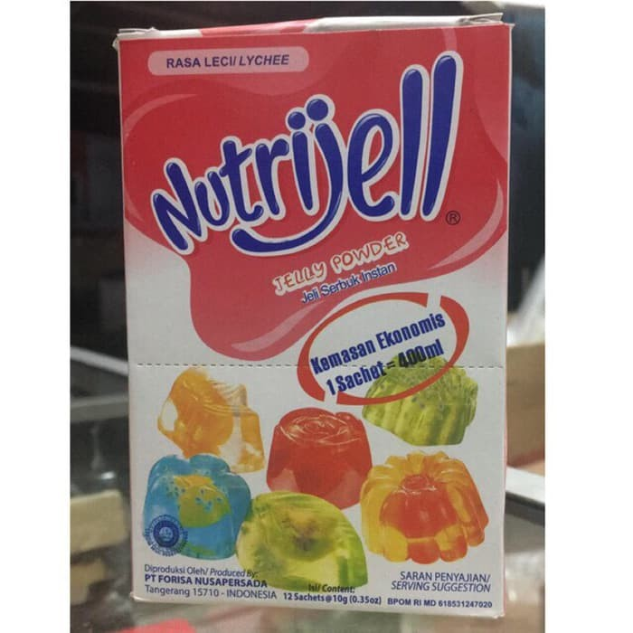 Katalog 1 Sachet Nutrijell Travelbon.com