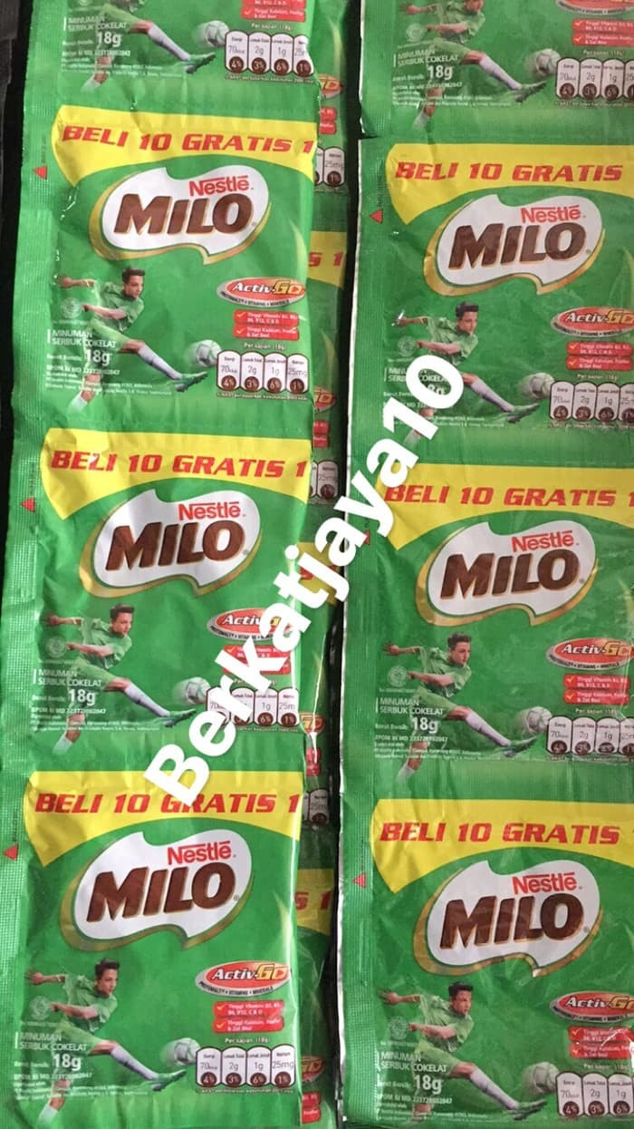 Murah 4 Daftar Harga Susu Bubuk Milo Sachet 2018 Terbaru Nestle Coklat 10x18