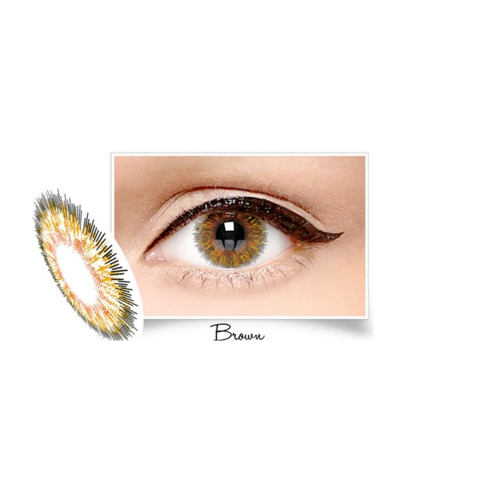 ... harga Softlens x2 new diva by spex symbol - brown Tokopedia.com 24d71ce578