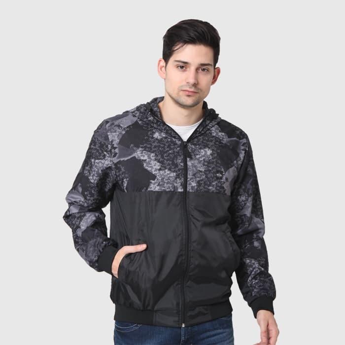 harga Cressida nextlevel army jacket hoodie parachute f351 - hitam - hitam m Tokopedia.com