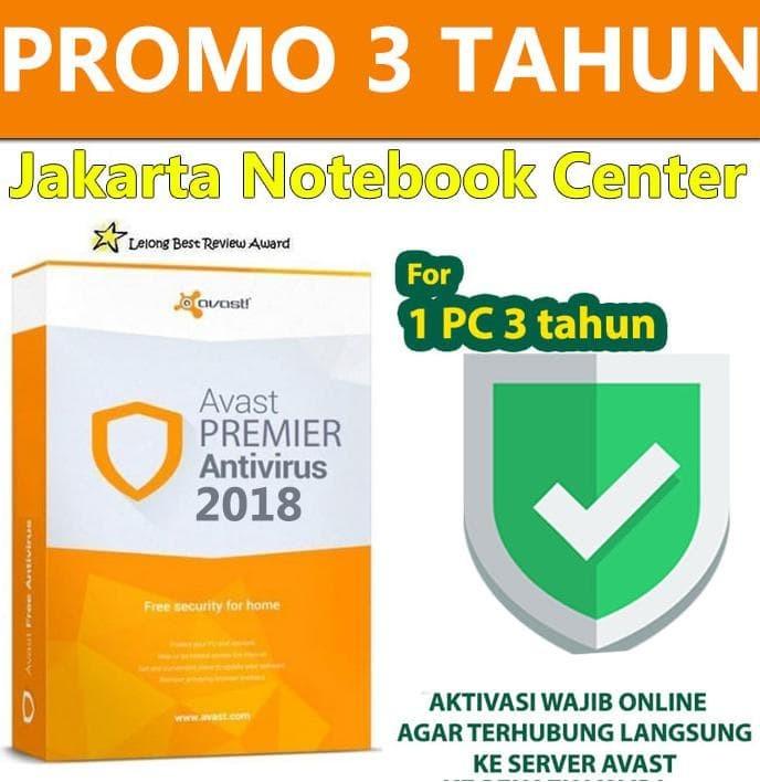 Jual Promo Licensi Antivirus Avast Premier Lifetime Original 2017 2018 2019 Safalina Eva Collection Tokopedia