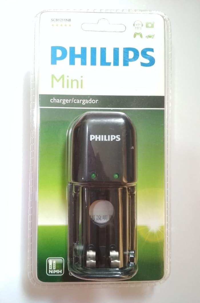 Foto Produk Philips Mini Charger For AA & AAA NiMH Black dari RedSkyonline