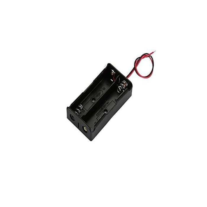 Foto Produk Baterai Case Baterai Holder 18650 2 Slot dari RedSkyonline