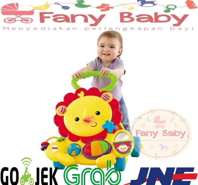 Hot List Fisher Price Musical Baby Walker Lion Berkualitas
