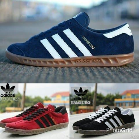 bca0532fab2571 Sepatu Adidas Casual Hamburg Classic Skate Navy Blue. Toko dalam status  moderasi