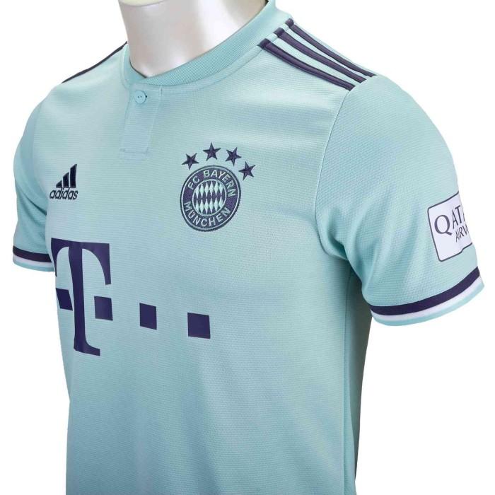 Jual Bayern Munchen Away Jersey 2018 19 Adidas Climalite Biru Muda S Jakarta Utara Planet Football0 Tokopedia