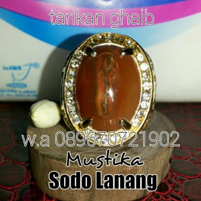 Batu akik m*s tl ka motif sodo lanang no yin yang galih kelor zamrut