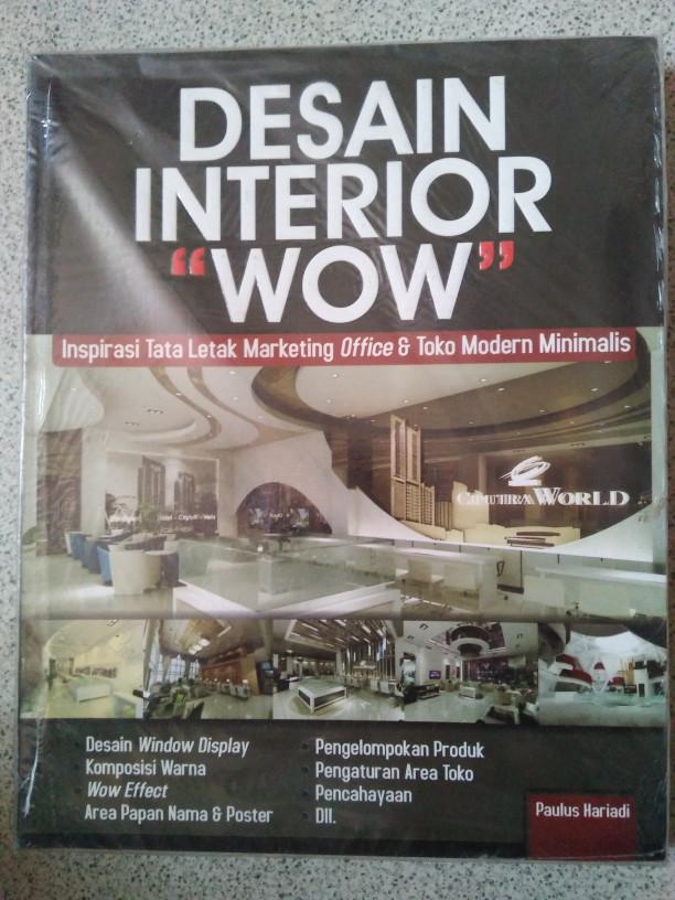 Jual Buku Desain Interior Wow Jakarta Barat Gudang Buku Sekolah Tokopedia
