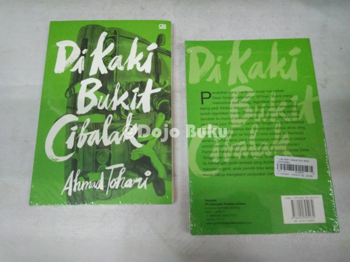 Di Kaki Bukit Cibalak Edisi Revisi (Cover Baru) Ahmad Tohari