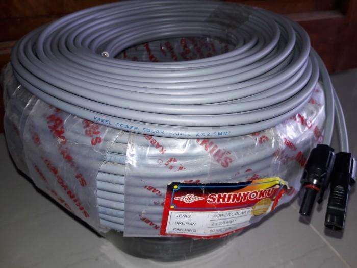 harga Kabel khusus solar panel - solar cell -panel surya 2x2.5 tembaga murni Tokopedia.com