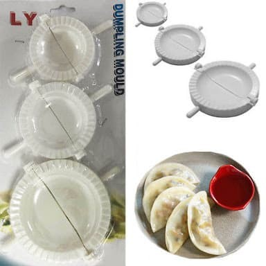 Cetakan kue pastel dumpling mould 1 set isi 3 pcs