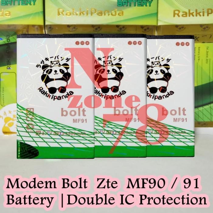 harga Baterai modem bolt zte mf90 mf91 rakkipanda double power Tokopedia.com