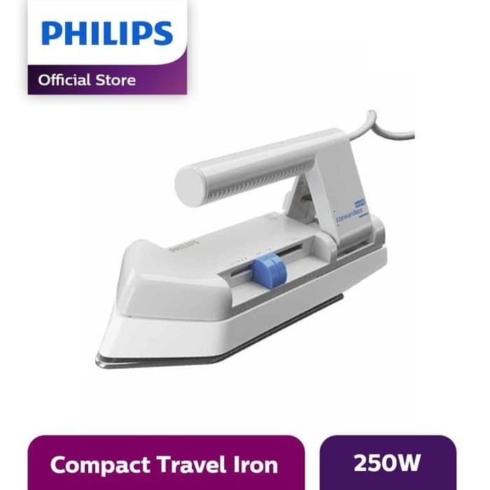 harga Philips dry iron setrika hd1301/38 250w - abu-abu Tokopedia.com