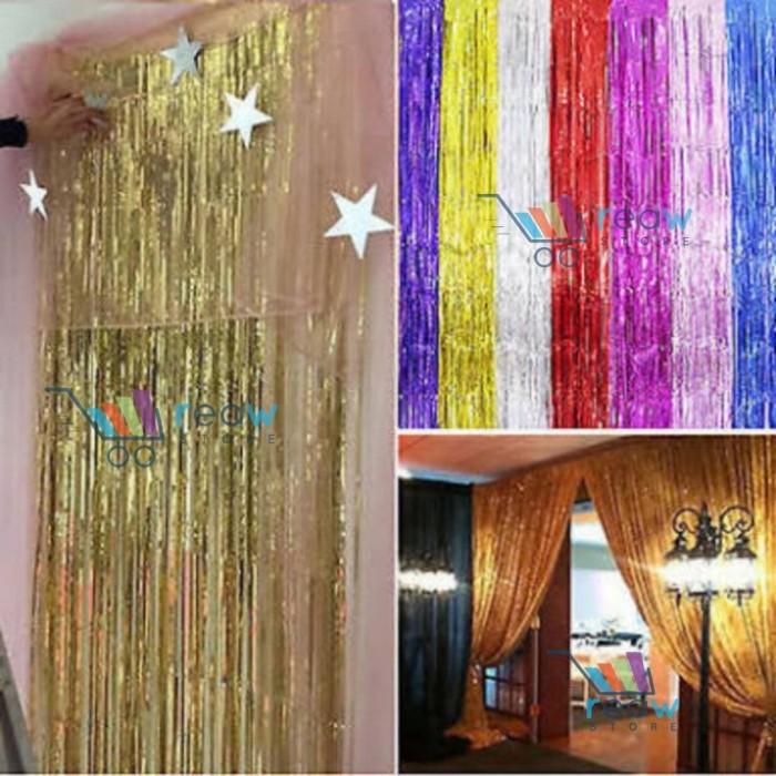 Foto Produk Tirai Foil Aneka Warna dari Reaw Store