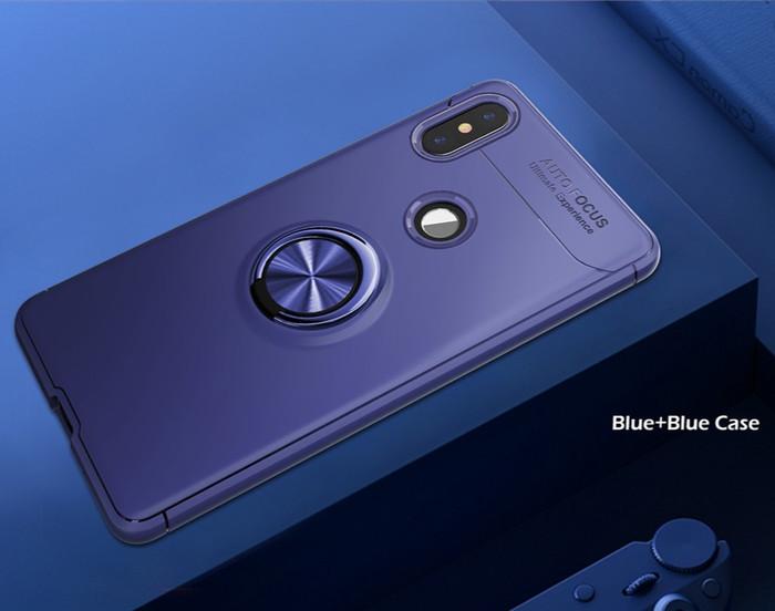 Foto Produk Case Autofocus Invisible Iring Xiaomi Redmi Note 5 Ai / Note 5 Pro - Biru dari Jagonya Case