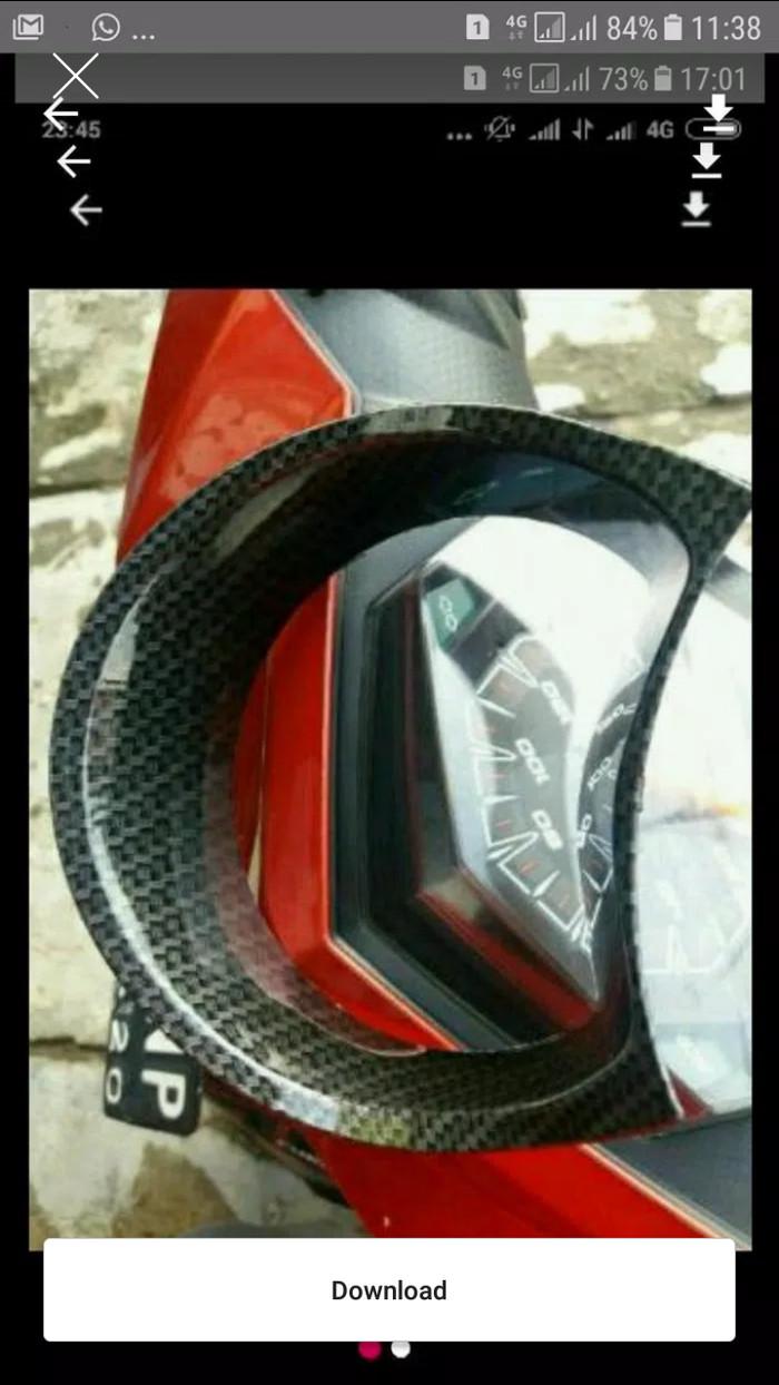 harga Cover speedometer /tutup spidometer aksesoris motor nmax carbon nemo Tokopedia.com