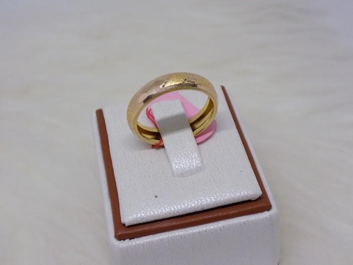 harga Cincin emas kuning ring ukir mas 375 gold original Tokopedia.com