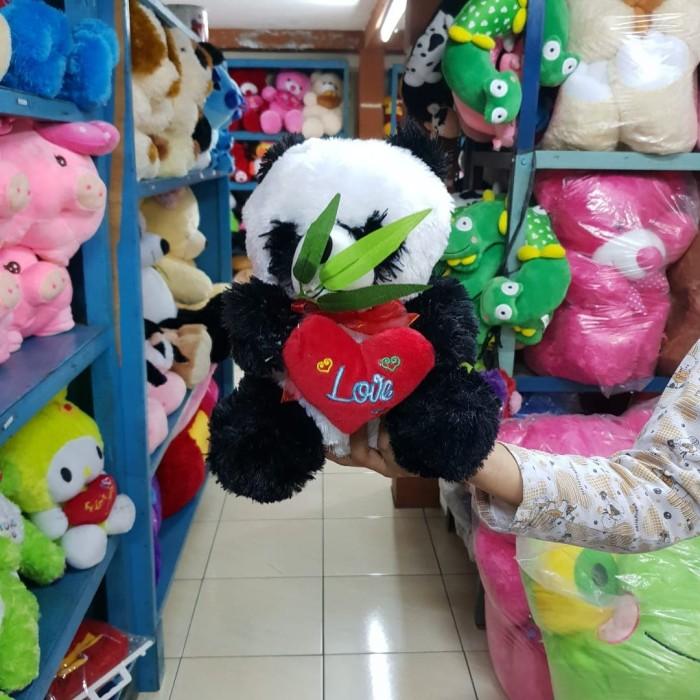 Grosir pabrik produksi boneka panda karakter binatang murah kado hadia 9c3e8c7627