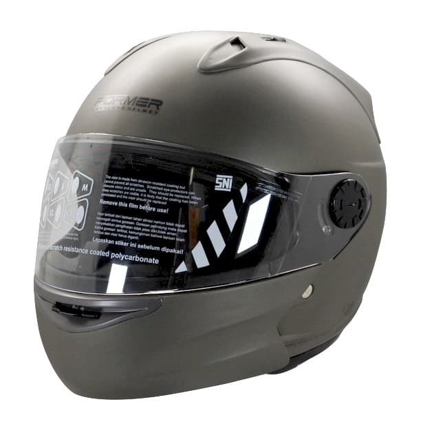 harga Cargloss devil former flip up horn helm modular full face - yellowish - size l Tokopedia.com