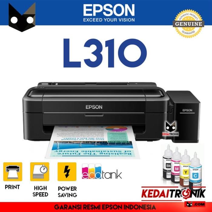 harga Printer epson l310 ink jet eco tank modif pabrik tinta resmi inkjet Tokopedia.com