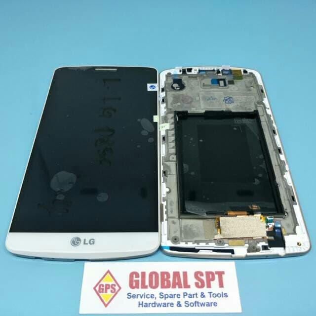 Jual Lcd Lg G3 D850 D851 D858 D855 Touchscreen Full Frame Origina Jambi 190 Sparepart Tokopedia