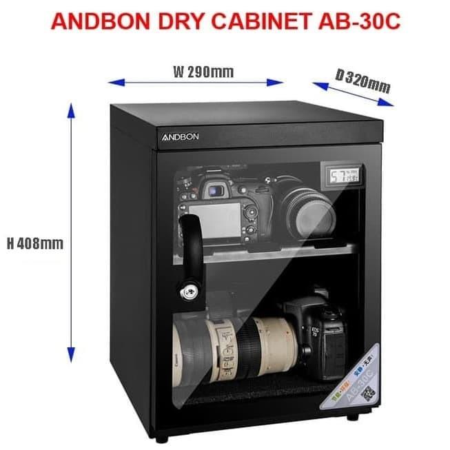 harga Andbon dry cabinet ab-30c digital / dry box ab 30c anbond ab30c ab 30 Tokopedia.com