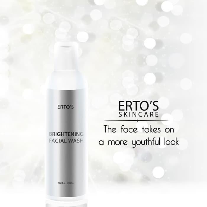 Foto Produk FACIAL WASH BRIGHTENING ERTOS ORIGINAL / SABUN WAJAH ERTO'S ASLI dari Skin Care Original