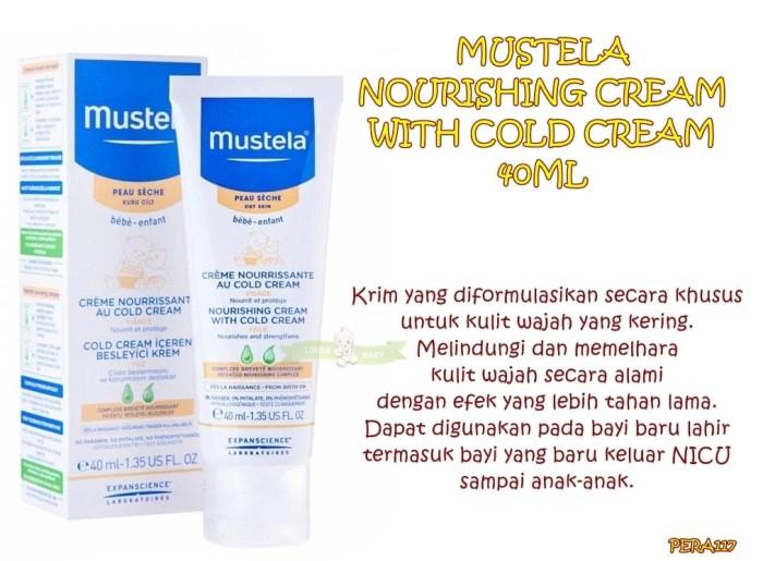 harga Pera117 mustela nourishing cream with cold cream 40ml Tokopedia.com