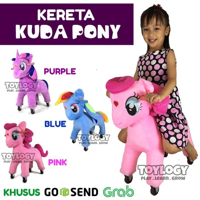 Mainan Anak Kereta Boneka My Little Pony Odong Kuda Kudaan Musik Lampu f1e6bd932d