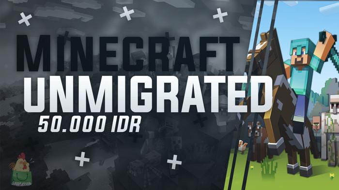 Jual Minecraft Unmigrated Account - Kota Pasuruan - ShopzAyam | Tokopedia