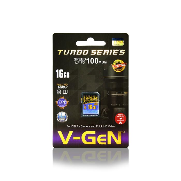 SDHC VGEN C10 16GB