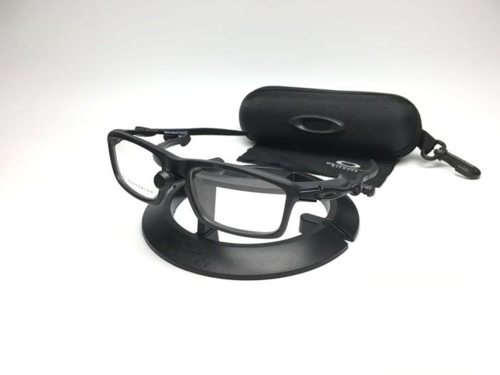 Frame Kacamata Oakley Badman + gratis lensa minus plus silinder - Merah 7d012c51a2