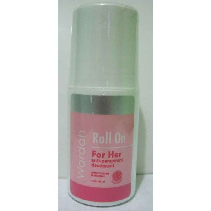 Wardah Roll On Deodoran For Him dan For Her Pria Wanita Deodorant