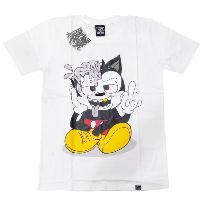 harga Tshirt / kaos dropdead how now grab ye (premium edition) Tokopedia.com