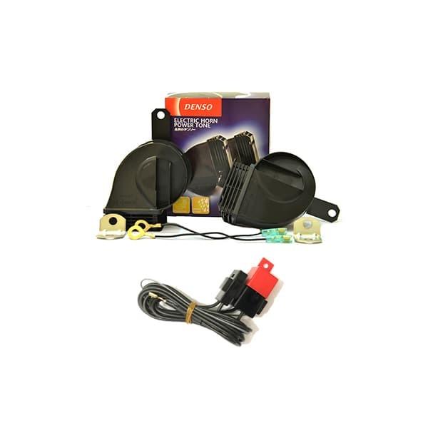 harga Klakson/horn denso trumpet keong waterproof 12v + relay set + acc Tokopedia.com