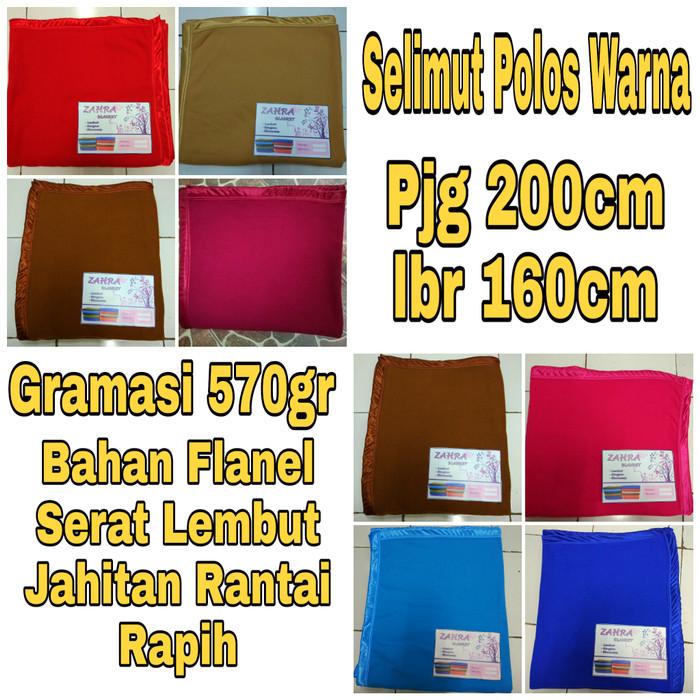 Selimut Polos / selimut yatis non merk / best seller