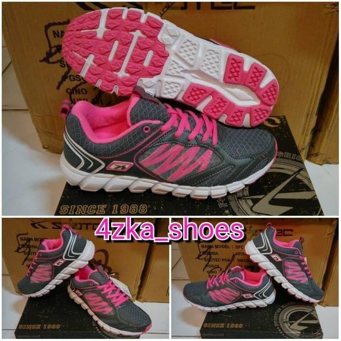 Spotec Collosus Dark Grey Red Sepatu Pria Sepatu Running Sepatu ... fd24bc8cc9