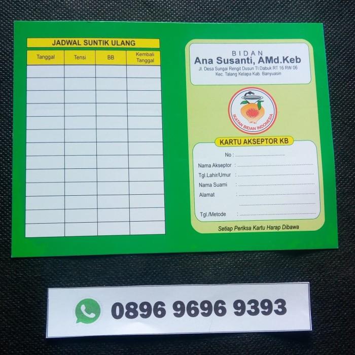 Jual Kartu KB Hijau - Kab. Bandung Barat - Kusnandar Alkes