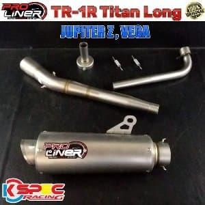 Pro Liner TR-1R Titan Long JUPITER-Z VEGA Knalpot Racing
