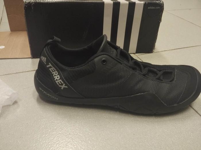 Adidas Terrex Climacool Jawpaw LA Original Nike Puma Reebok Timberland -  Hitam adacd97314f1